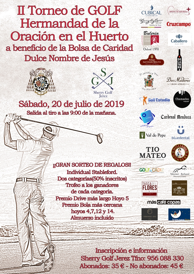 Torneo Sherry Golf 2019